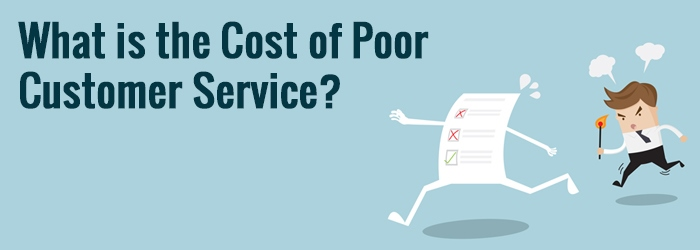 cost of poor customer service