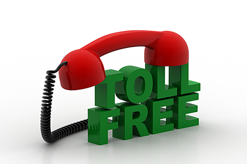 Toll free (800) answering services