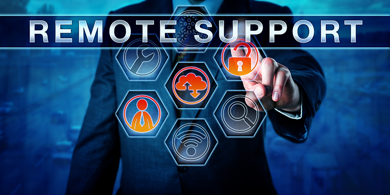 Remote IT Support Services and fix the issues