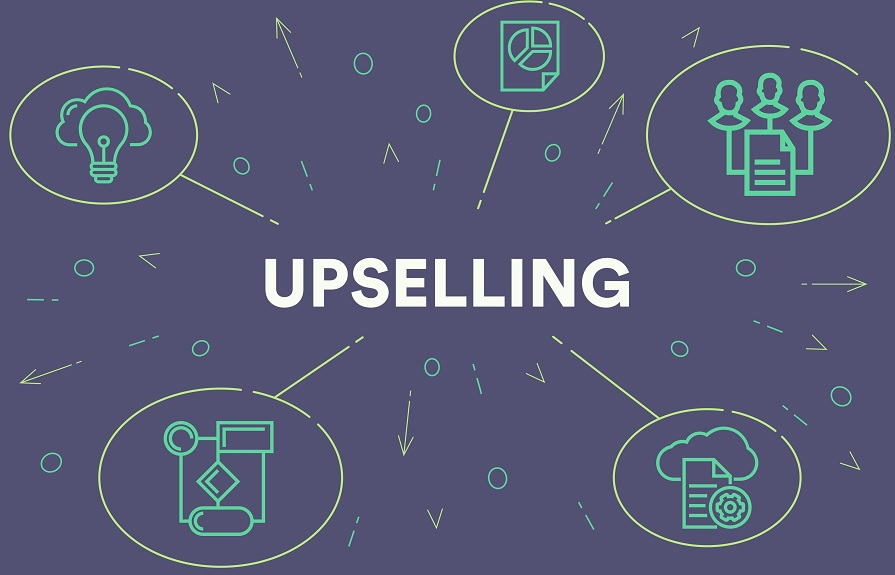 Up-selling outsourcing services by expertcallers