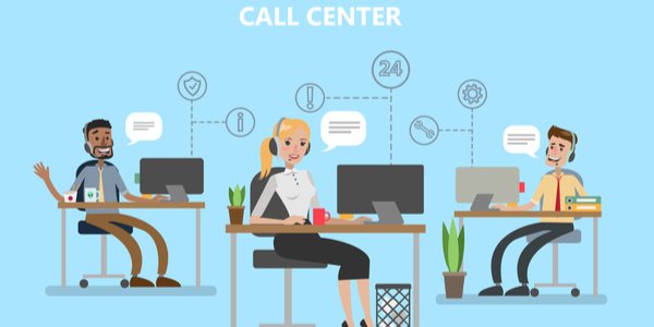 call center vs contact center