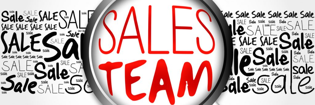 sales team for lead generation